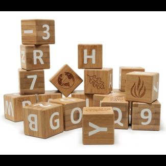 Kinderfeets Kinderfeets - Bamboo ABC Blocks