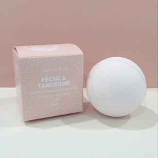 Caprice & Co Caprice & Co - Vegan Bath Bomb, Peach and Tangerine