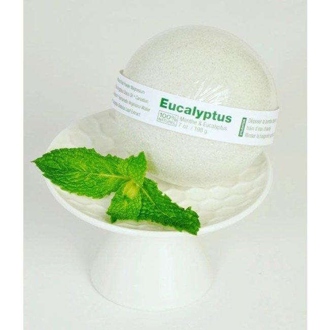 Caprice & Co Caprice & Co - Bombe de Bain Végétalienne, Menthe et Eucalyptus