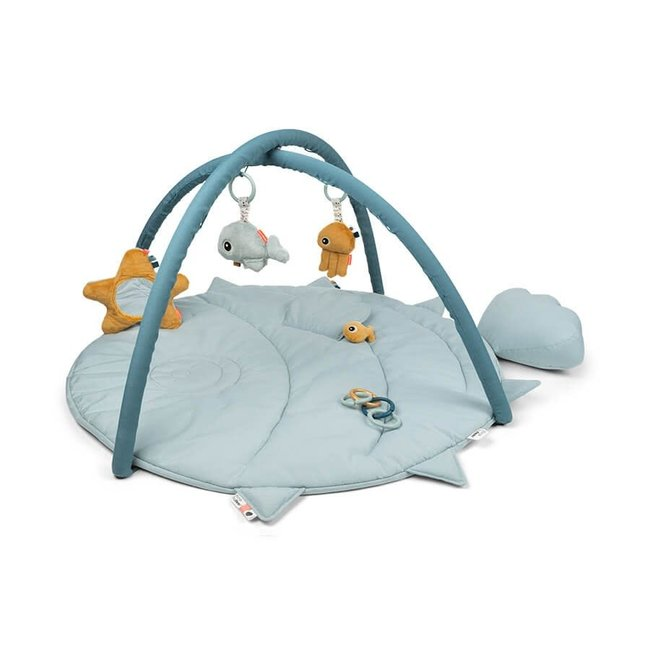Done By Deer Done By Deer - Activity Play Mat, Sea Friends Blue