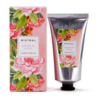 Mistral Mistral - Sparkling Peony Exquisite Florals Hand Cream