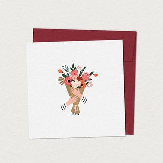Mimosa Design Mimosa Design - Greeting Card, Antoinette