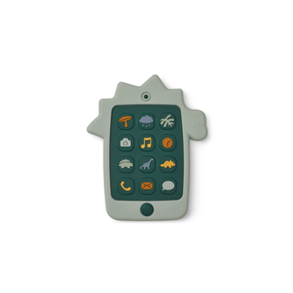 Liewood Liewood -  Play Phone, Dino Blue Wave