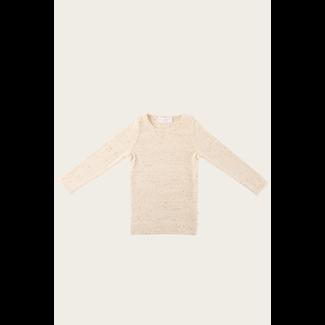 Jamie Kay Jamie Kay - Fleck Long Sleeve T-Shirt, Honey