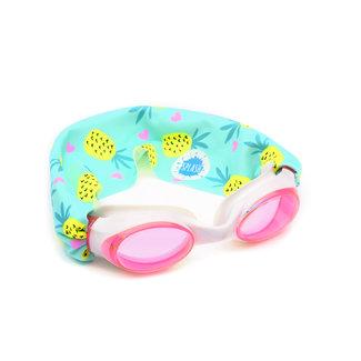 Splash Swim Splash Swim - Swimming Goggles, Pineapple Crush