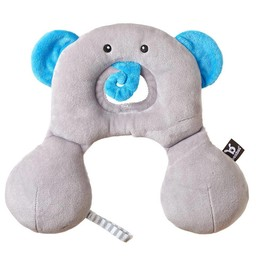 Benbat Benbat - Repose Tête Travel Friend/Travel Friend Headrest, Éléphant/Elephant 0-12 Mois/Months