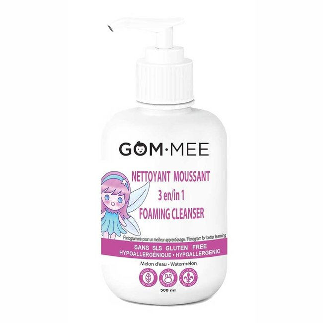 Gom.mee GOM.MEE - 3-in-1 Foaming Cleanser for Bath, Body, Hair, Watermelon