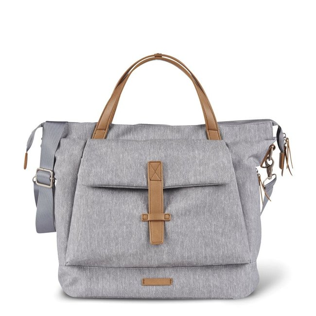 Bababing Bababing - Erin Backpack Diaper Bag, Grey Marl
