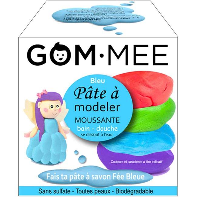 Gom.mee GOM.MEE - Foaming Modelling Clay for Bath, Blue Fairy