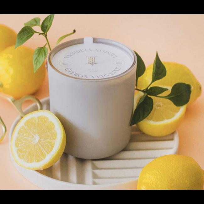 Flambette Flambette - 14oz Candle, Limited Edition Lemon and Verbena