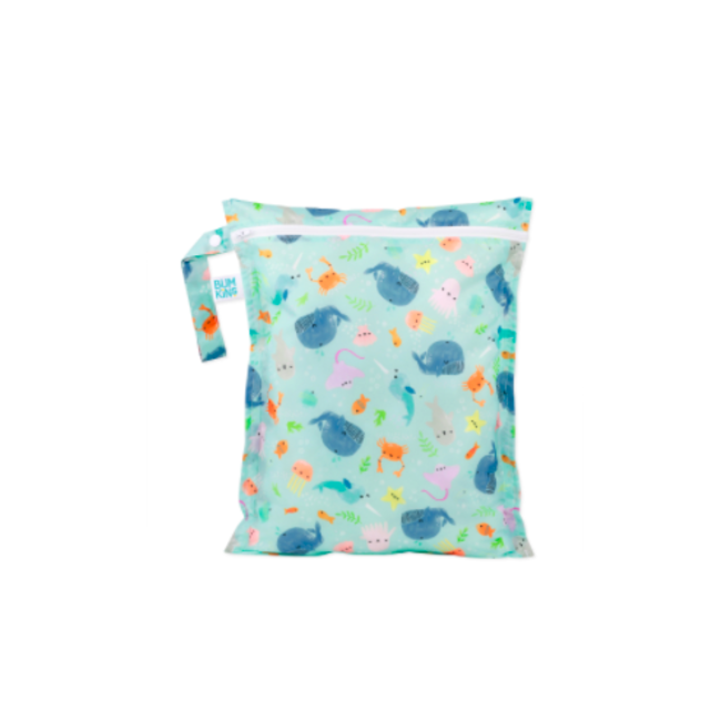 Bumkins Bumkins - Wet Bag, Ocean Life