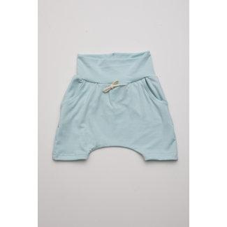 Little Yogi Little Yogi - Evolutive Shorts, Blue Mint