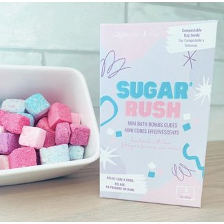Caprice & Co Caprice & Co - Mini Vegan Bath Bombs, Sugar Rush