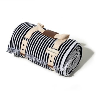 Business & Pleasure Co. Business & Pleasure Co - Lauren's Outdoor Blanket, Navy Stripes