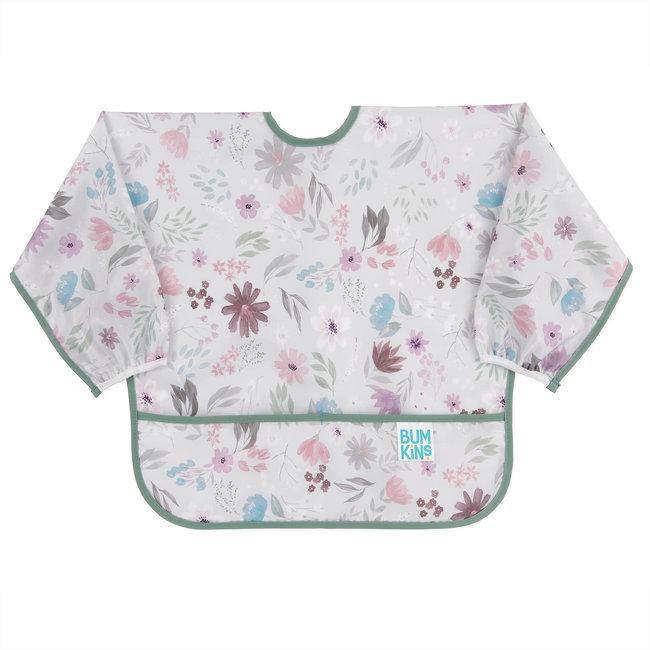 Bumkins Bumkins - Sleeved Bib, Floral