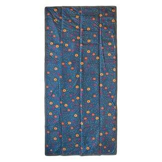 """Little Unicorn Little Unicorn - Outdoor Blanket 5 x 10"""", Midnight Poppy"""