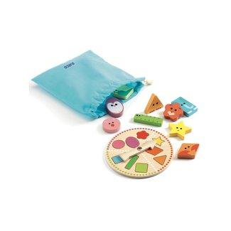 Djeco Djeco - Wooden Game, Tactilo Basic