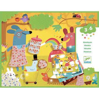 Djeco Djeco - Foam Fun Mosaic Set