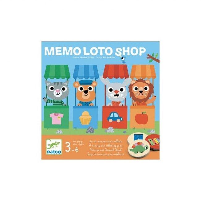 Djeco Djeco - Loto Game, Memo Shop