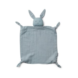 Liewood Liewood - Agnete Cuddle Cloth, Rabbit Sea Blue