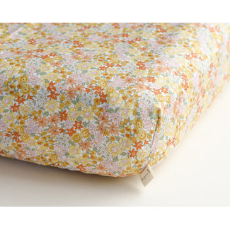 Sauge & Co Sauge & Co - Cotton Fitted Sheet, Summer Bloom