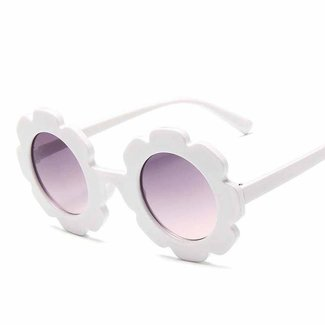 Miminoo Miminoo - Power Flower Sunglasses, White