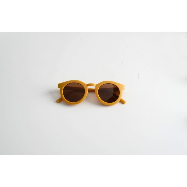 Grech & Co. Grech & Co. - Sustainable Sunglasses, Gold, 3 years and +