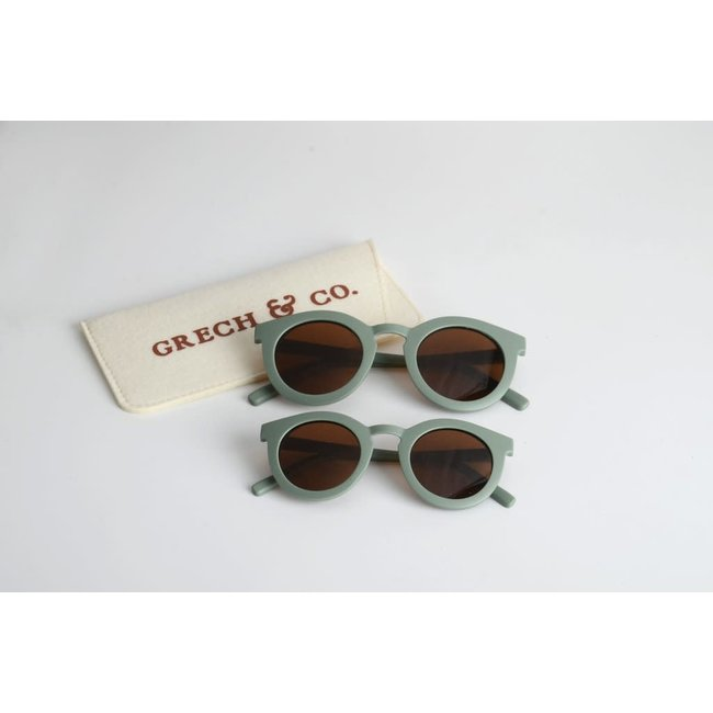 Grech & Co. Grech & Co. - Sustainable Sunglasses, Fern, 3 years and +