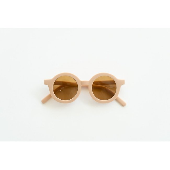 Grech & Co. Grech & Co. - Round Sustainable Sunglasses, Shell, 18m - 36m