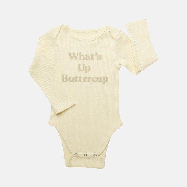 "Claude & Co Claude & Co - ""Buttercup"" Long Sleeves Bodysuit"