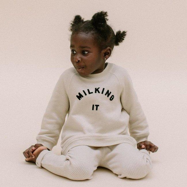 "Claude & Co Claude & Co - ""Milking it"" Sweater for Kids"