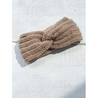 Mini Bretzel Mini Bretzel - Autumnal Warm Headband, Sand