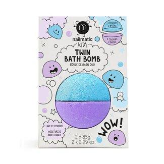 Nailmatic Nailmatic - Twin Bath Bomb, Blue Violet