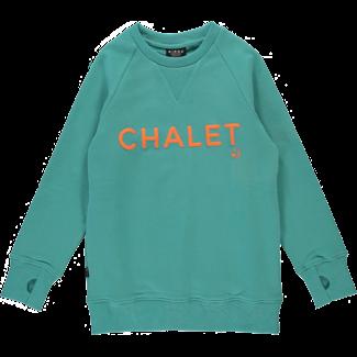 Birdz Children & Co Birdz - Chandail Chalet, Ciel Aqua
