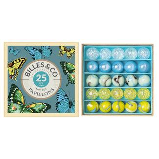Billes & Co Billes & Co - Mini Boîte de Billes, Papillons