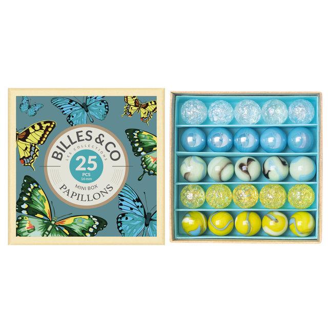 Billes & Co Billes & Co - Marbles Mini Box, Butterflies