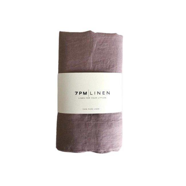 7PM Linen 7PM Linen - Linen Blanket, Rosewood