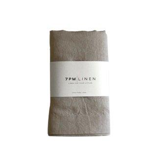 7PM Linen 7PM Linen - Linen Blanket, Natural
