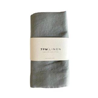 7PM Linen 7PM Linen - Couverture en Lin, Brume