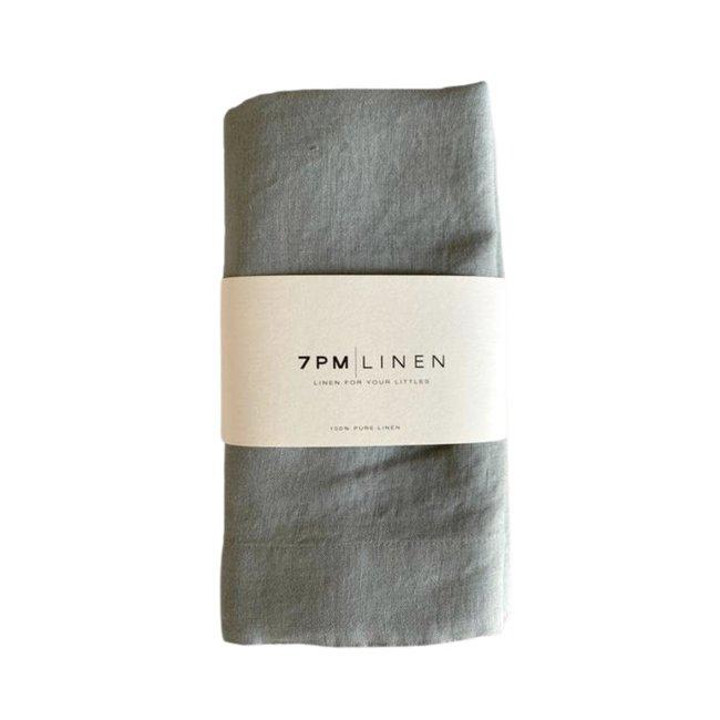 7PM Linen 7PM Linen - Linen Blanket, Haze