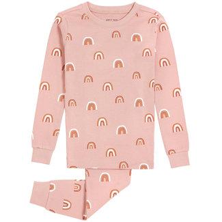 Petit Lem Petit Lem - 2 Pieces Organic Cotton Pyjama Rainbows