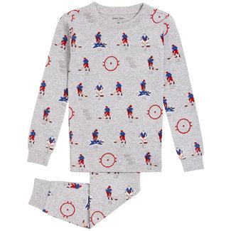 Petit Lem Petit Lem -  2 Pieces Organic Cotton Pyjama, Hockey