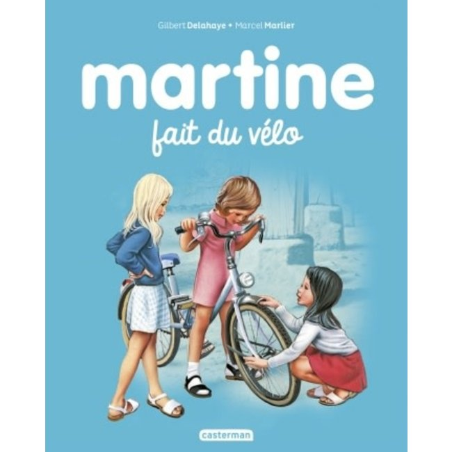 Éditions Casterman Éditions Casterman - Book, Martine Rides a Bicycle #21