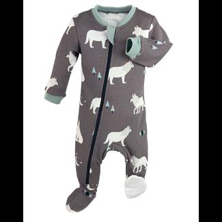 Zippy Jamz Zippy Jamz - Footie Pyjama, Little Wolf