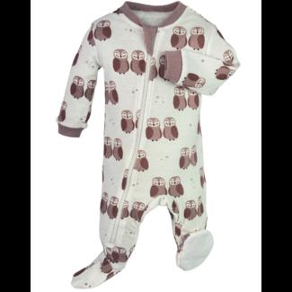 Zippy Jamz Zippy Jamz - Footie Pyjama, Purple Owl