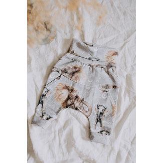 Little Yogi Little Yogi - Evolutive Pants, Elephant Grey