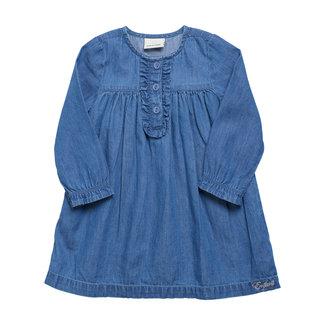 En Fant En Fant - Chambray Dress, Dark Slate