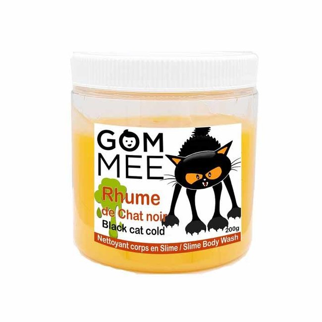 Gom.mee GOM.MEE - Slime Body Wash, Black Cat Cold
