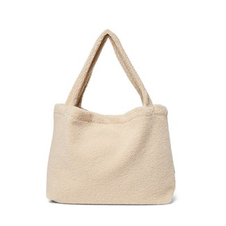 Studio Noos Studio Noos - Plush Handbag, Ecru