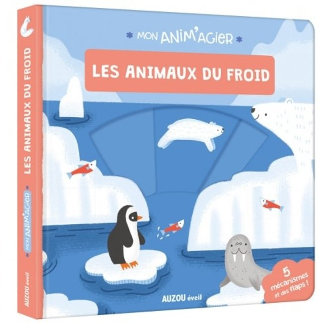 Auzou Auzou - Livre Mon Anim'agier, Les Animaux du Froid